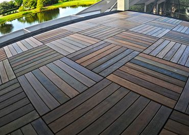 Solid Ipe Deck Tile