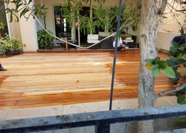 Solid Tigerwood Decking